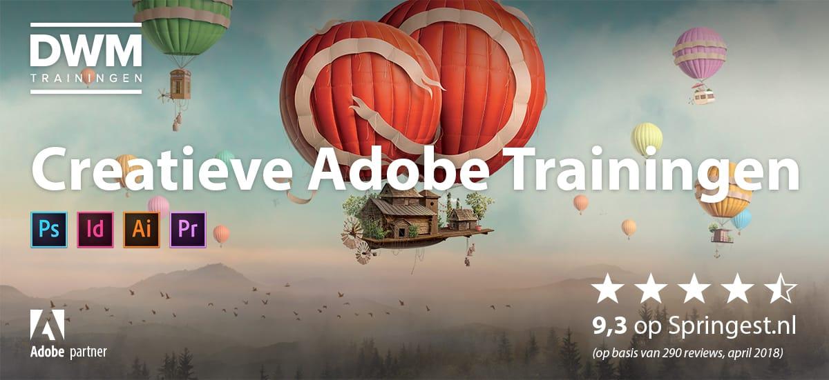 DWM Trainingen, Creatieve Adobe Trainingen